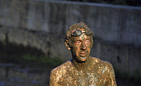 Mike Covered in Mud