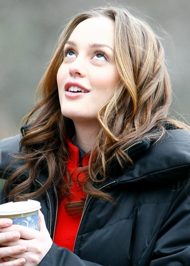 gossip girl pictures from the set  blair waldorf