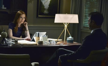 Abby and Leo Talk - Scandal Season 4 Episode 7