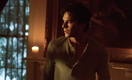 Damon in Deep Trouble - The Vampire Diaries