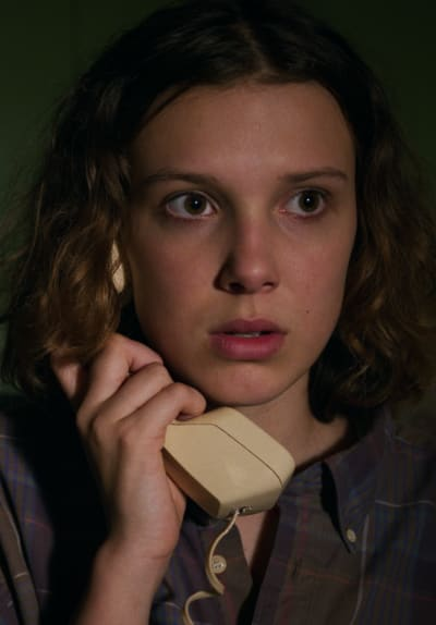 Eleven on the Phone - Stranger Things