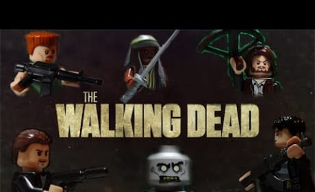 The Walking Dead Season 5 Teaser: Lego Style!