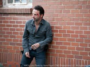 The Walking Dead Review Rick V Shane Showdown Tv