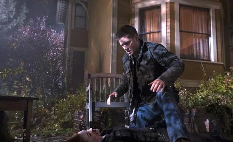 Dean and Charlie - Supernatural Season 10 Episode 11