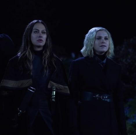 Echo and Clarke - The 100 Season 6 Episode 12