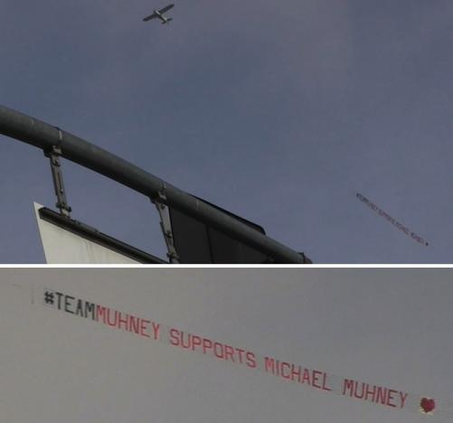 Team Muhney Sign