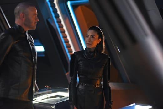 Leland is Acting Strange - Star Trek: Discovery Season 2 Episode 11