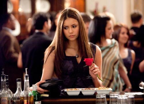Elena at a Party