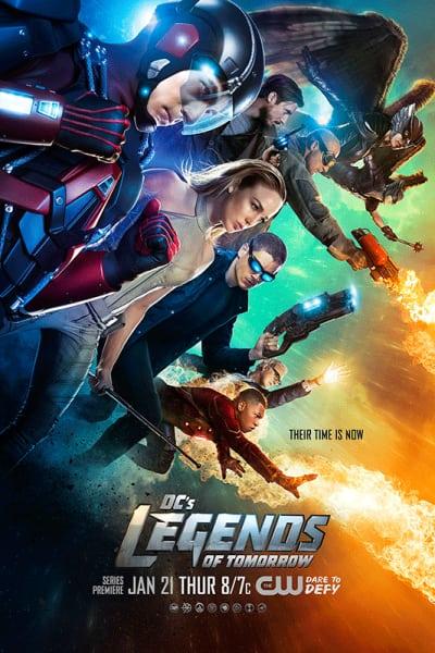 DC's Legends of Tomorrow Key Art