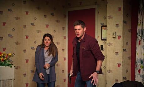 A monster attacks - Supernatural Season 11 Episode 13