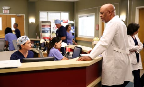 Juggling Responsibilites - Grey's Anatomy Season 12 Episode 2