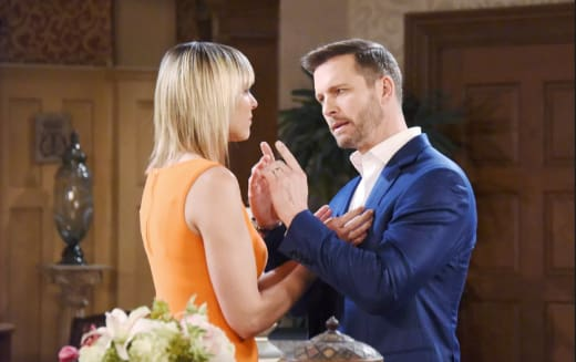 Brady Confronts Nicole - Days of Our Lives