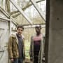Leo and Max on the Lookout - Humans Season 2 Episode 2