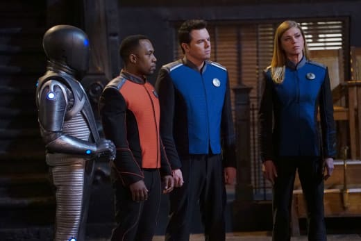 Away Team - The Orville Season 2 Episode 7
