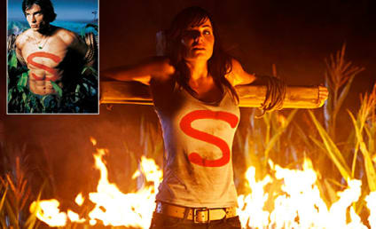 Smallville Season 10 Spoiler Pic: Lois Crucified?!?