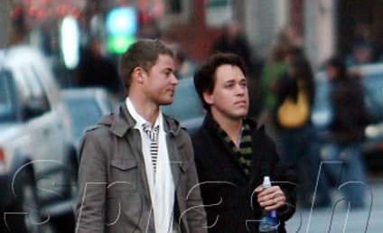 T.R. Knight, Mark Cornelsen Stroll Through N.Y.C.