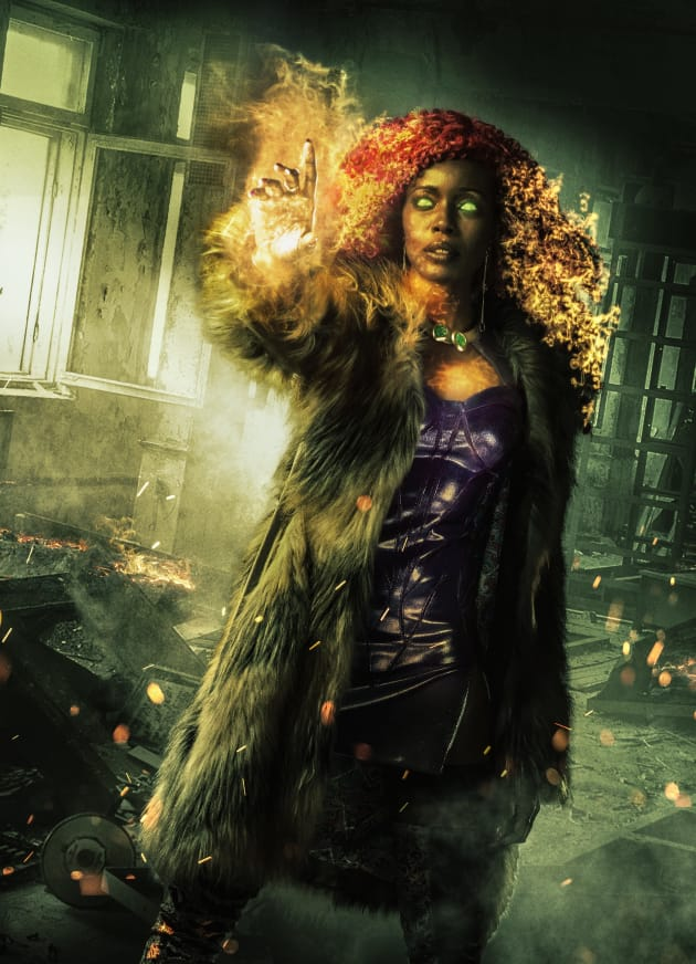 Starfire Promotional from Titans