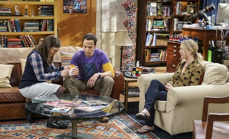Another Injury - The Big Bang Theory Season 10 Episode 9