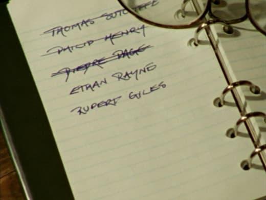 Death List - Buffy the Vampire Slayer Season 2 Episode 8