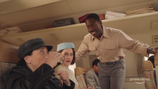 Sterling K. Brown on The Marvelous Mrs. Maisel