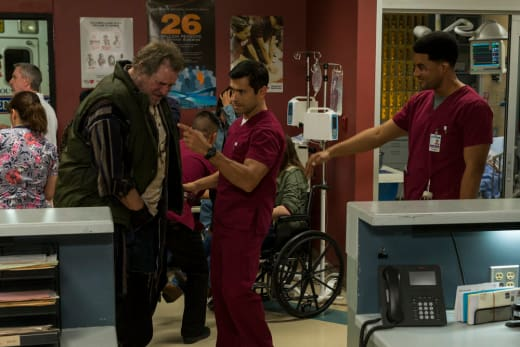 Kenny and Cain - The Night Shift Season 4 Episode 2