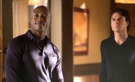 Cade and Damon - The Vampire Diaries Season 8 Episode 11