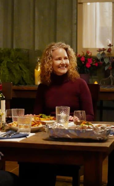 Abeline at Dinner - Walker Season 1 Episode 9
