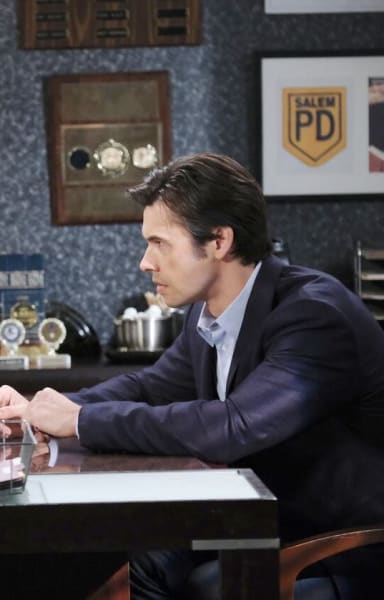 Eli Questions Xander/Tall - Days of Our Lives