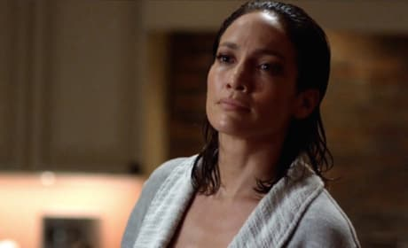 Harlee in Her Robe - Shades of Blue Season 2 Episode 2