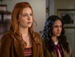 Nancy and Amanda - Nancy Drew Season 2 Episode 9