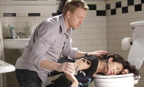 Cristina and Owen Moment