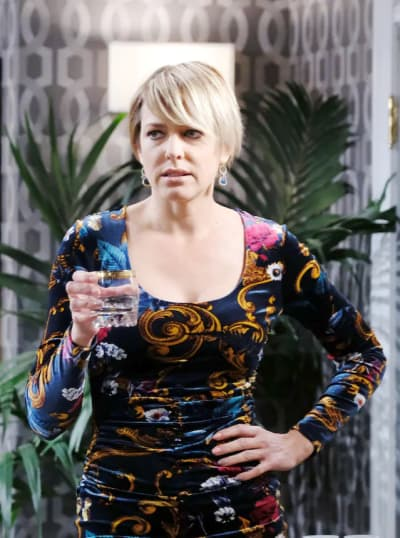 Faux Nicole Attacks Stefan - Days of Our Lives