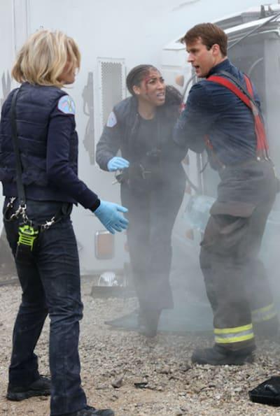 Casey, Brett, and Mackey - Chicago Fire Season 9 Episode 2