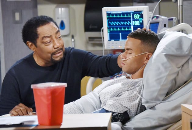 A Bedside Confrontation - Days of Our Lives
