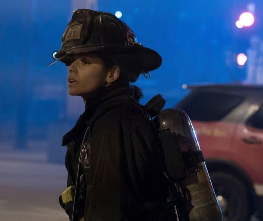Stella Looks On - Chicago Fire Season 5 Episode 15