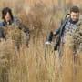 Aaron and Daryl - The Walking Dead Season 5 Episode 16