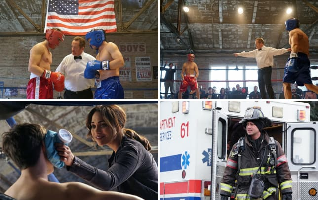 Battle of the badges chicago fire season 4 episode 14