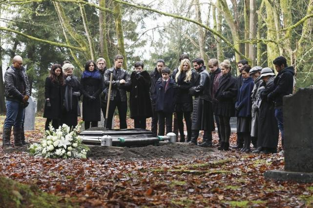Saying Their Last Goodbye
