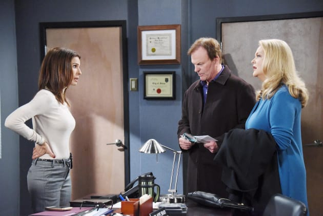 Roman and Anna in Trouble - Days of Our Lives