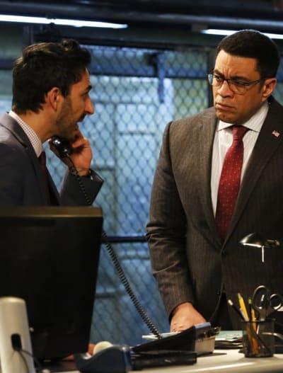 Harold and Aram - The Blacklist Season 6 Episode 21