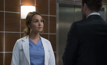 Grey's Anatomy Photo Preview: Jo and Paul Face Off!