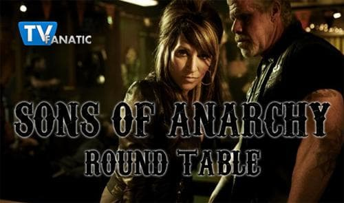 Sons Of Anarchy Round Table Kiss Tv Fanatic