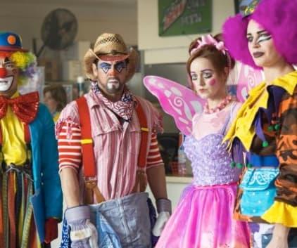 Clowns - The Librarians Season 3 Episode 5
