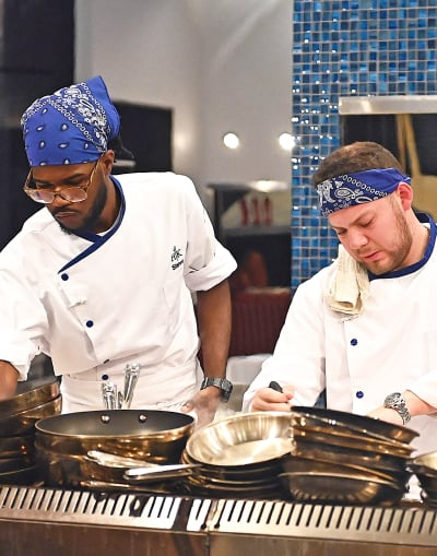 Dirty Dishes - tall - Hell's Kitchen Season 20 Episode 4