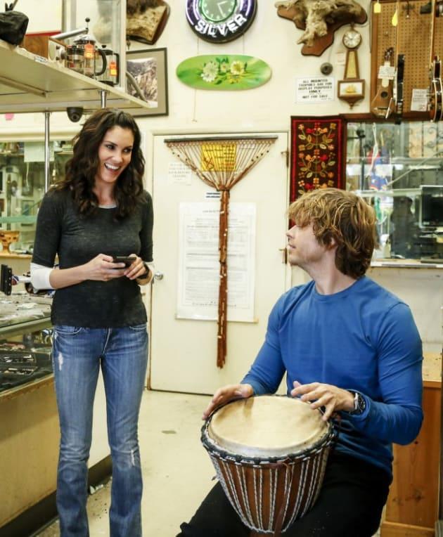 A Light Moment - NCIS: Los Angeles Season 8 Episode 21