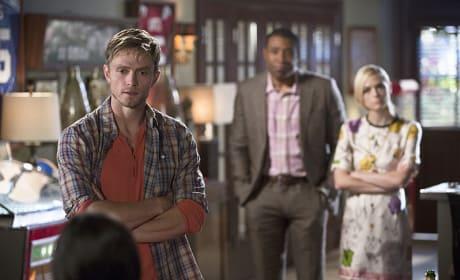 Confronting Zoe - Hart of Dixie Season 4 Episode 9