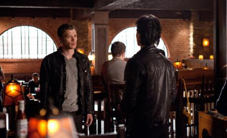 Klaus vs. Damon