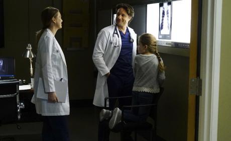 Interruptions  - Grey's Anatomy Season 13 Episode 23