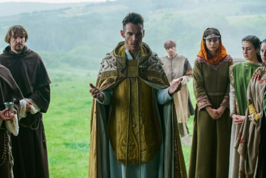 Bishop Heahmund - Vikings Season 4 Episode 20