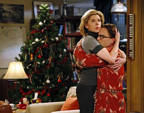 Beverly Hugs Leonard